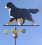 Bernese Mt. Dog Weathervane-Standard