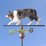 Border Collie Weathervane-Blue Merle