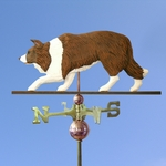 Border Collie Weathervane-Red