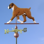 Boxer (natural) Weathervane-Fawn