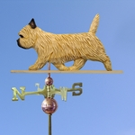 Cairn Terrier Weathervane-Wheaten
