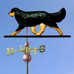 Cavalier King Charles Spaniel Weathervane-Black & Tan