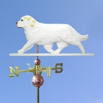 Clumber Spaniel Weathervane-Lemon