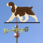 English Springer Spaniel Weathervane-Liver