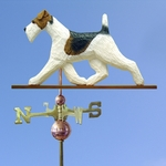 Fox Terrier (wire) Weathervane-Standard