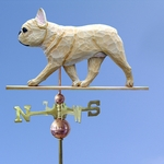 French Bulldog Weathervane-Fawn