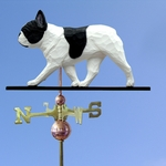 French Bulldog Weathervane-Pied