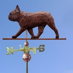 French Bulldog Weathervane-Red Brindle