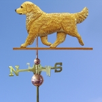 Golden Retriever Weathervane-Light