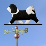 Havanese Weathervane-Black/White