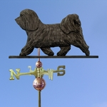 Havanese Weathervane-Dark Grey