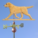 Labrador Retriever Weathervane-Yellow