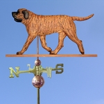 Mastiff Weathervane-Apricot Brindle