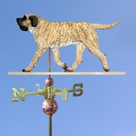 Mastiff Weathervane-Fawn Brindle