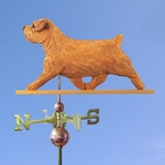Norfolk Terrier Weathervane-Red