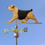 Norfolk Terrier Weathervane-Black &Tan