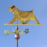 Norfolk Terrier Weathervane-Grizzle