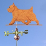 Norwich Terrier Weathervane-Red