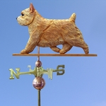 Norwich Terrier Weathervane-Wheaten