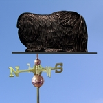 Pekingese Weathervane-Black