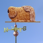 Pekingese Weathervane-Sable