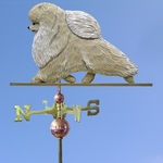 Pomeranian Weathervane-Cream