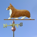Welsh Corgi (pembroke) Weathervane-Red