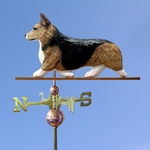Welsh Corgi (pembroke) Weathervane-Sable