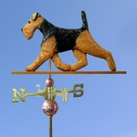 Welsh Terrier Weathervane-Standard