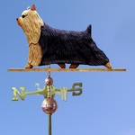 Yorkshire Terrier Weathervane-Standard