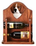 Beagle Wine Rack-Tri