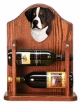 Bernese Mt. Dog Wine Rack-Standard