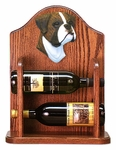 Boxer (natural) Wine Rack-Brindle