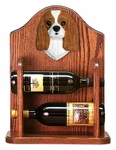 Cavalier King Charles Spaniel Wine Rack-Blenheim