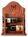 Cavalier King Charles Spaniel Wine Rack-Ruby