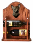 Chihuahua Wine Rack -Black
