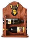Chihuahua Wine Rack -Black/Tan