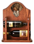 German Short Haired Pointer Wine Rack-Standard