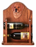 Golden Retriever Wine Rack-Dark