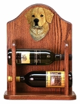 Golden Retriever Wine Rack-Light