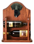 Great Dane (natural) Wine Rack -Black