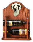 Great Dane (natural) Wine Rack -Harlequin
