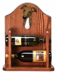 Greyhound Wine Rack -Brindle