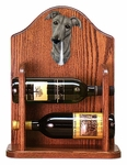 Greyhound Wine Rack -Grey