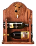 Greyhound Wine Rack -Red