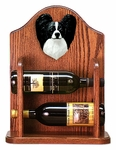 Papillon Wine Rack -Black/White