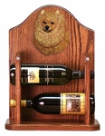 Pomeranian Wine Rack -Orange