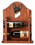 Toy Fox Terrier Wine Rack -Tri