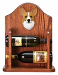 Welsh Corgi (pembroke) Wine Rack-Blonde