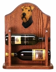 Welsh Terrier Wine Rack-Standard